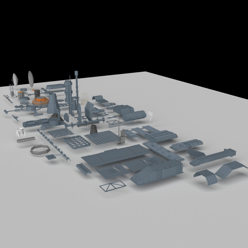 Greeble pack preview image 1