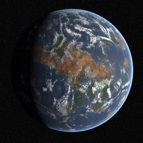 high quality procedural earth preview image