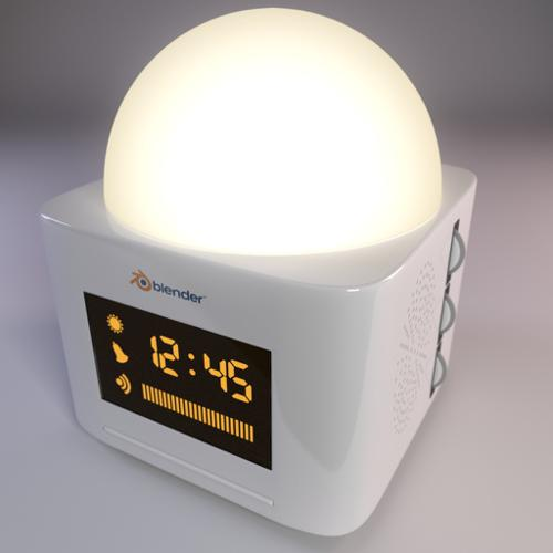 Light alarm clock preview image