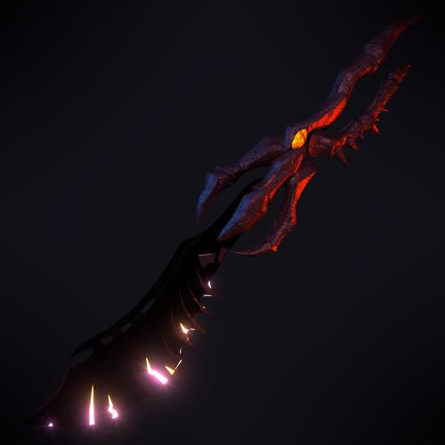Consuming Cursed Scimitar (DragonFable) preview image