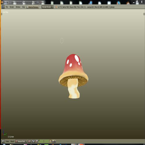Tall Mushroom preview image