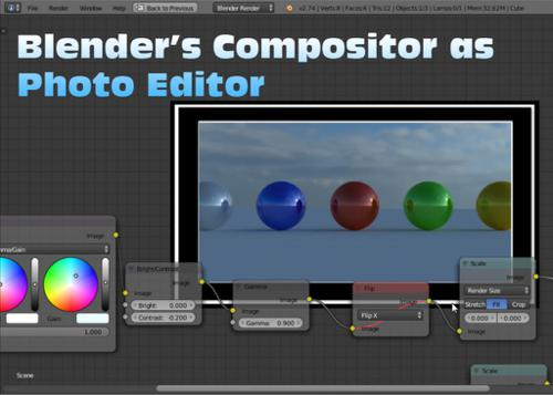 Blender's Compositor as a Photo Editor preview image
