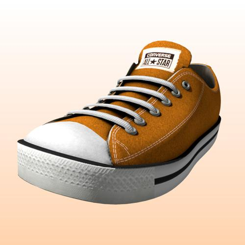 Colorable Converse sneakers preview image