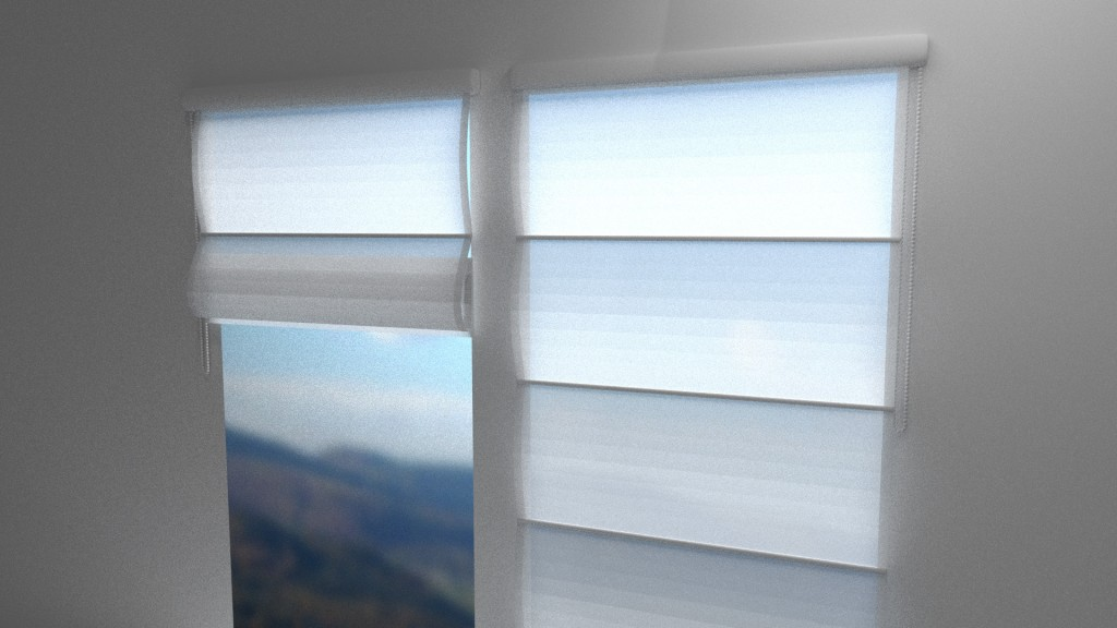 Roman blinds window decoration preview image 2