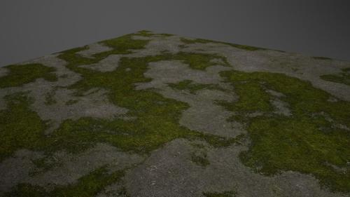 Moss/Dirt Grower Material -Cycles preview image