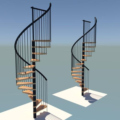 spiral staircase preview image