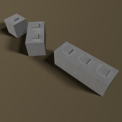 Concrete or Cement Retainer Blocks preview image