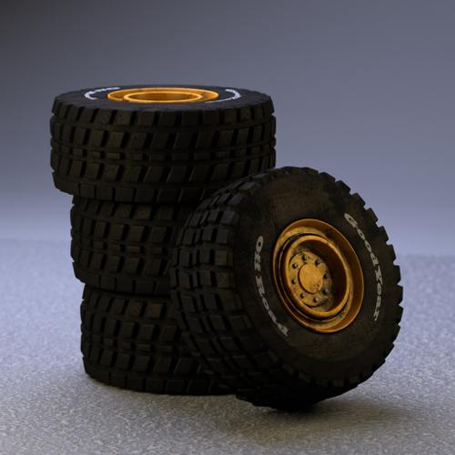 Heavy Machine Tires preview image