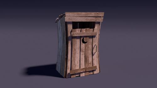 Cartoony Outhouse preview image
