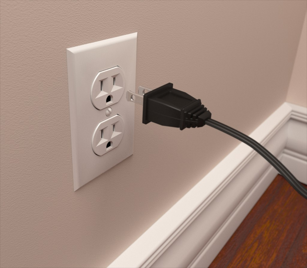 Power Outlet and Power Cable preview image 1