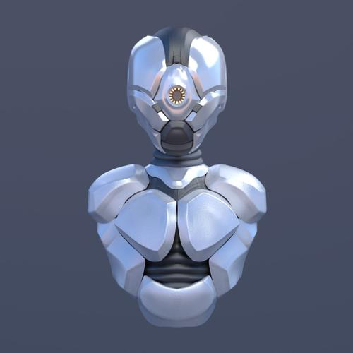 Robot with textures preview image