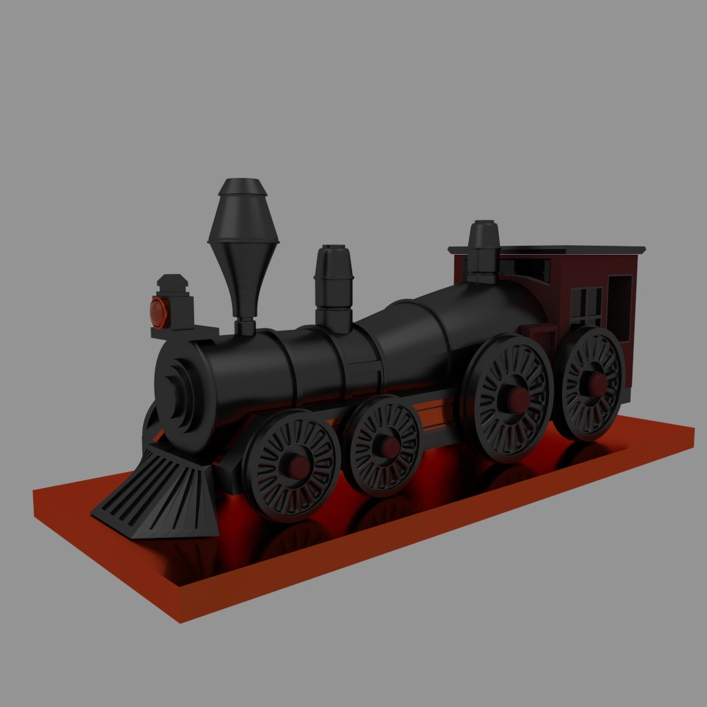 Steam Engine Train preview image 2