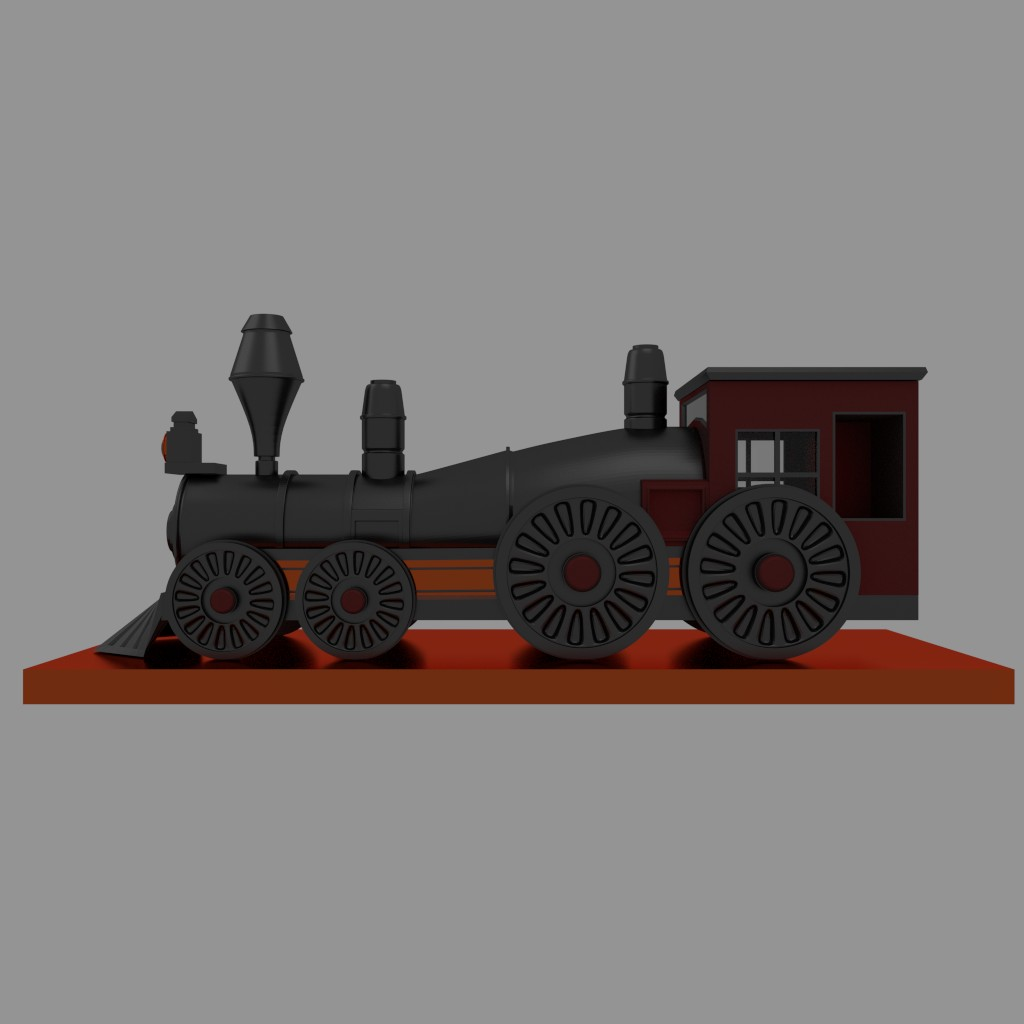 Steam Engine Train preview image 1