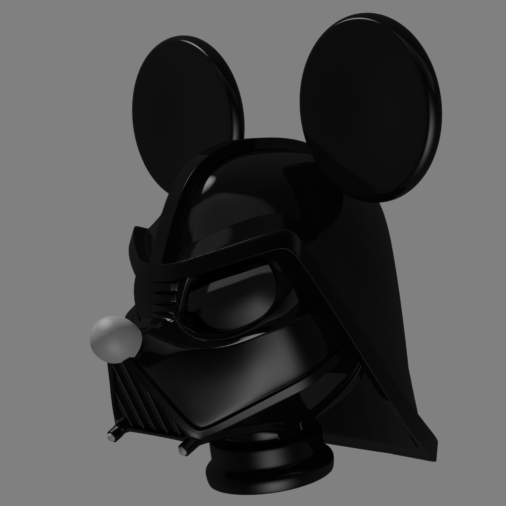 Mickey Vader's helmet preview image 1