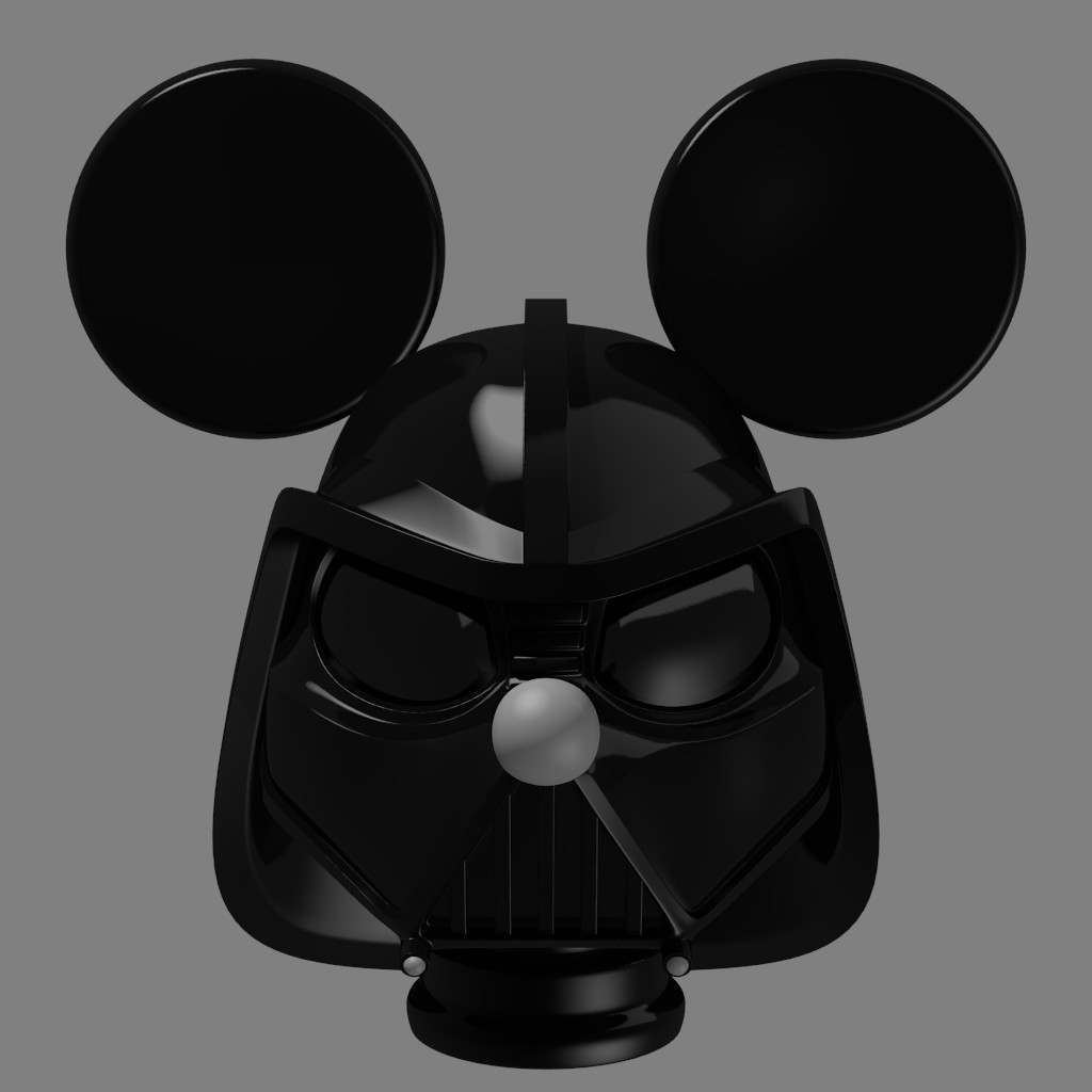 Mickey Vader's helmet preview image 2