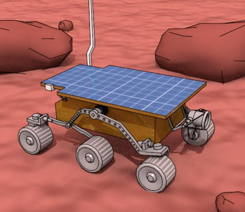Mars Sojourner Rover preview image