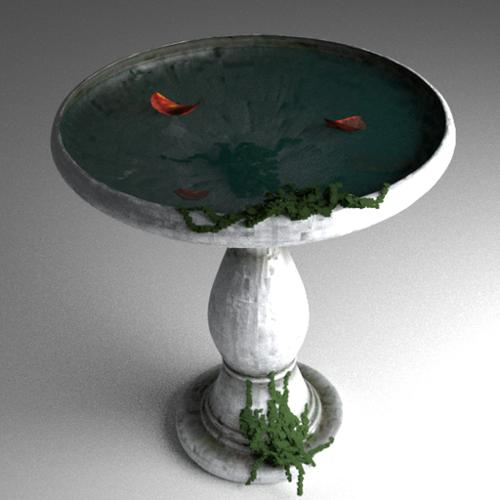 Bird Bath (First Model) preview image