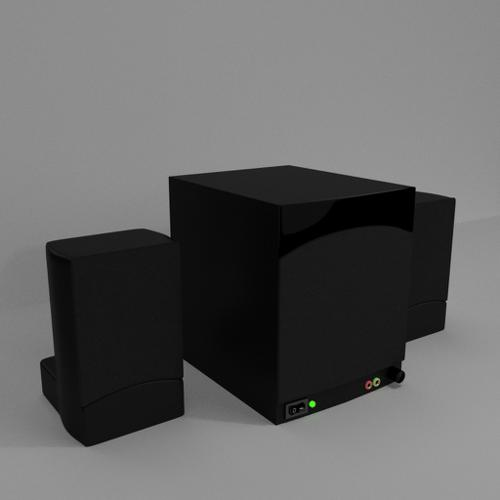 Speakers and Subwoofer preview image