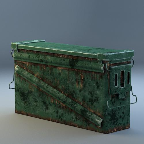 Worn-Out Rusted AmmoCrate preview image
