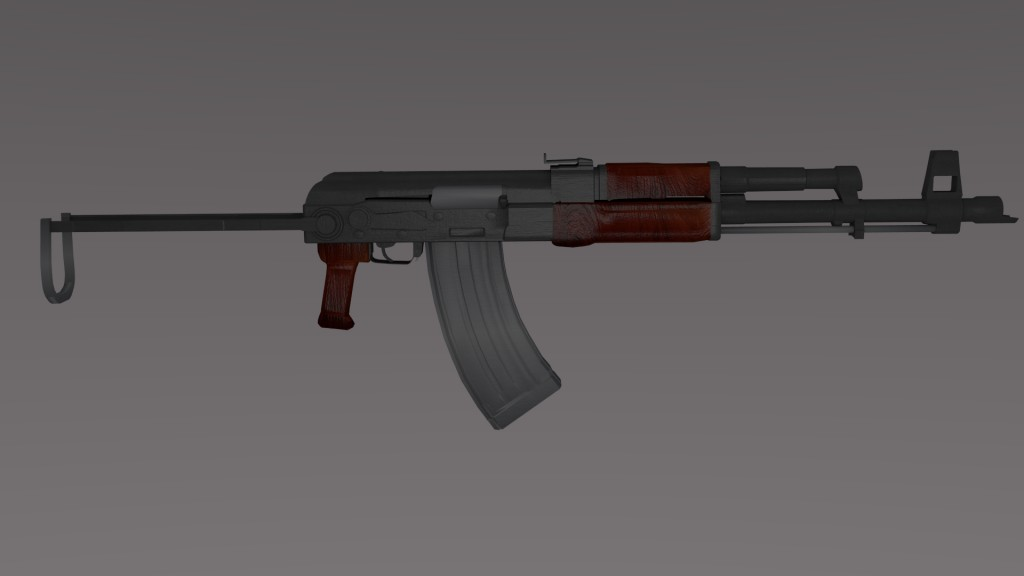 AKMS-47 Foldable Assault Rifle preview image 1