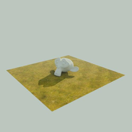 High Res Tillable Grass Texture and Material preview image