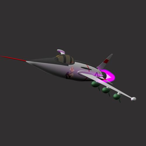 1950's Rocket Bomber preview image