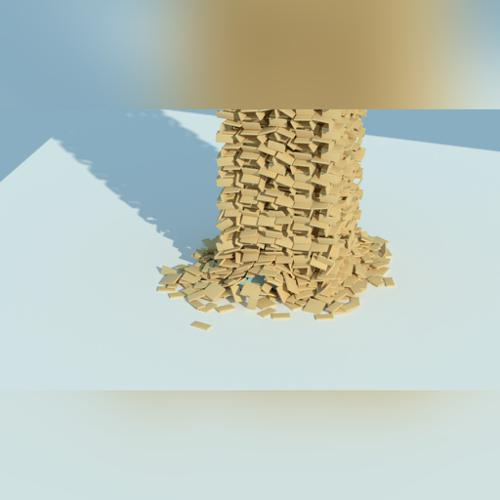 Rigid Body Tower Simulation preview image