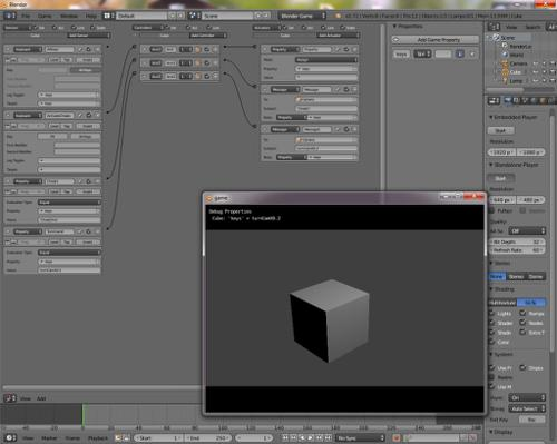 Blender Game Cheat Setup preview image