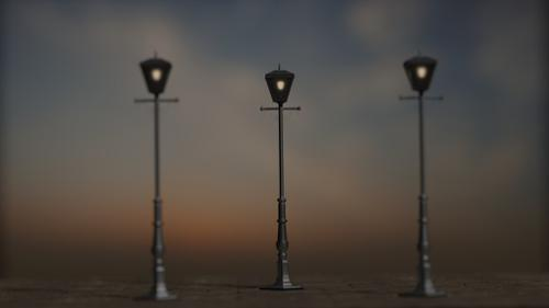 Victorian Lamp preview image