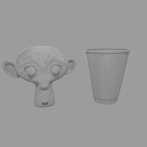 Procedural Polystyrene Cycles Material(Styrofoam) preview image