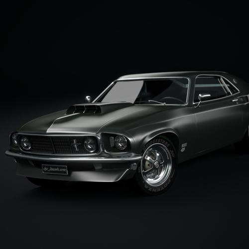 1969_ford_mustang_boss_429 preview image