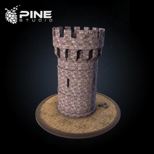 Medieval castle tower preview image