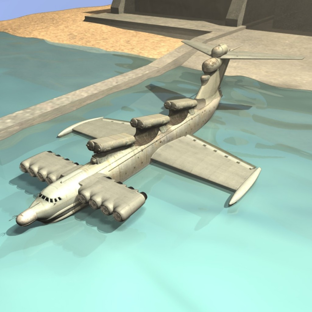 Project 903 Lun, Ecranoplane preview image 1
