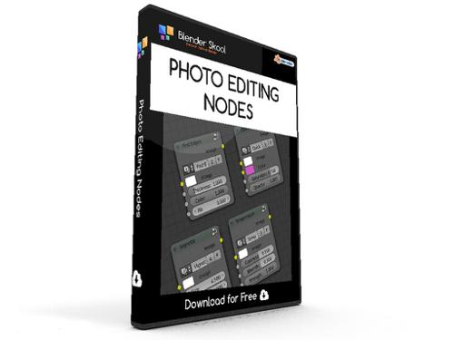 Photo Editing Nodes for Compositor preview image