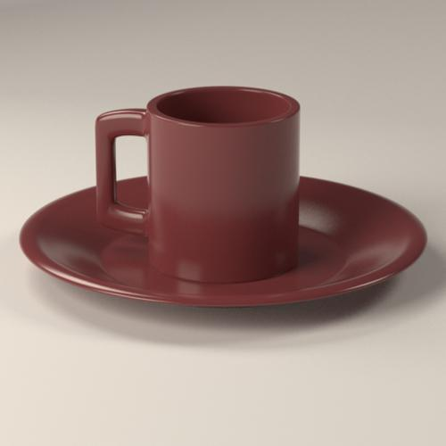 Ceramic Cup/Plate preview image