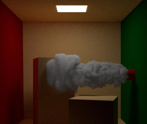 Blender 2.75 Cycles Smoke Shader preview image