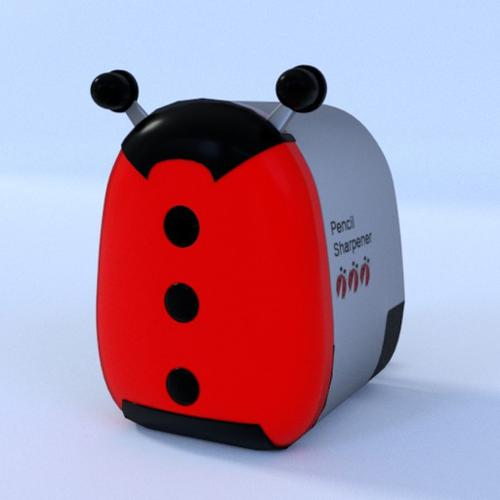 Lady Bug Pencil Shapener preview image
