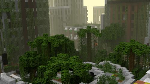 Minecraft Apocalyptic City preview image