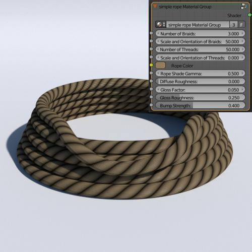 simple rope material preview image
