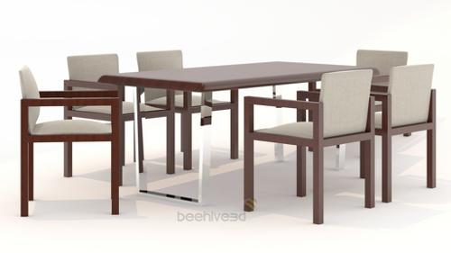 Dining Table with Chairs preview image