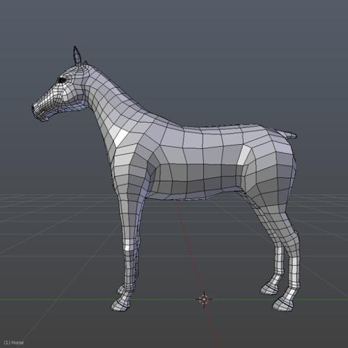 Horse Basemesh preview image