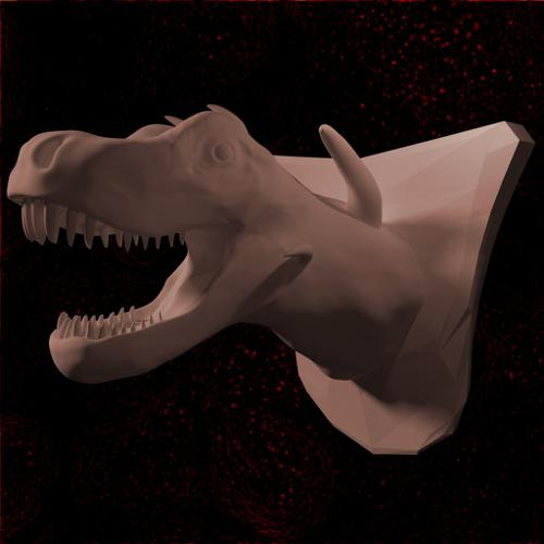 Dinosaur Bust preview image