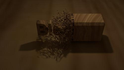 Wood chipping animation preview image