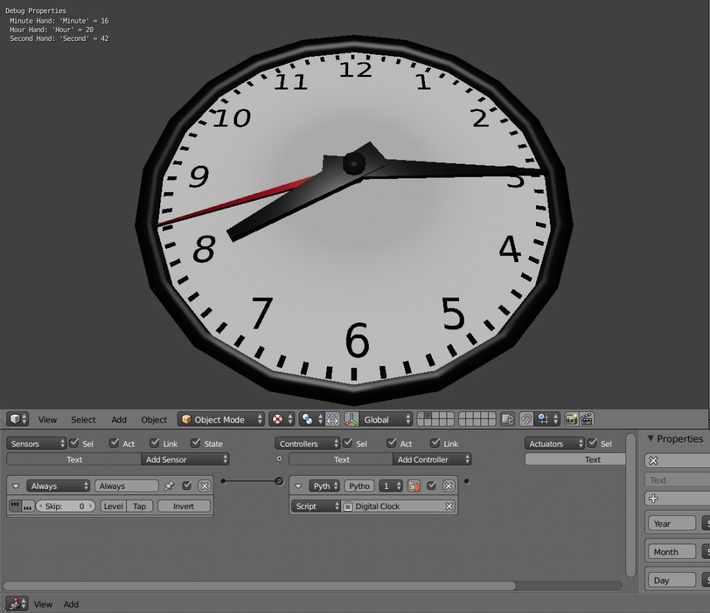 Current Time BGE preview image 1
