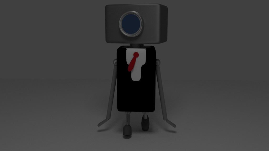 "Rigged Robot For ""PINEAPPLE"" preview image 1"