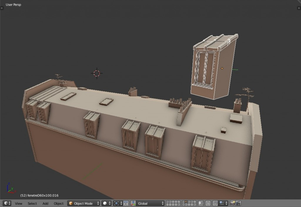 Roofs of Paris - tutorial preview image 2