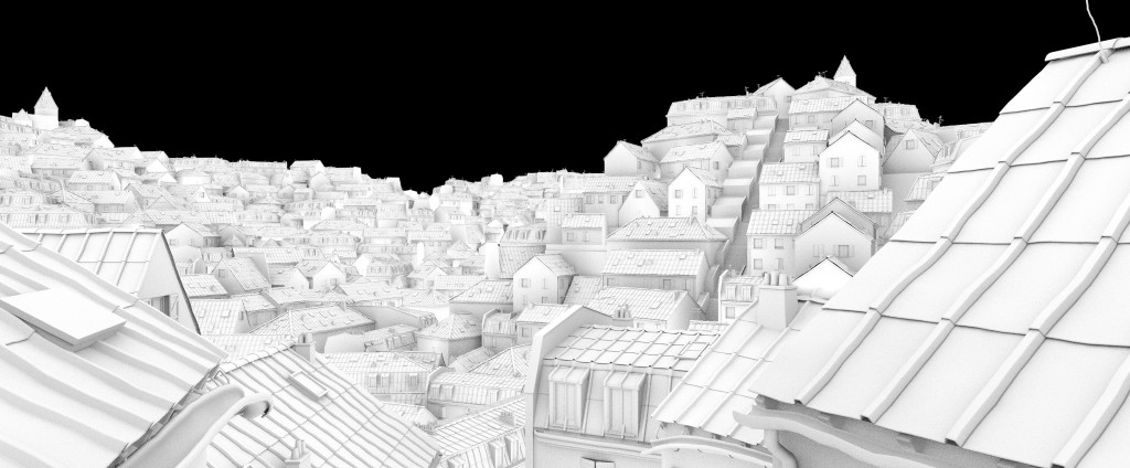 Roofs of Paris - tutorial preview image 4