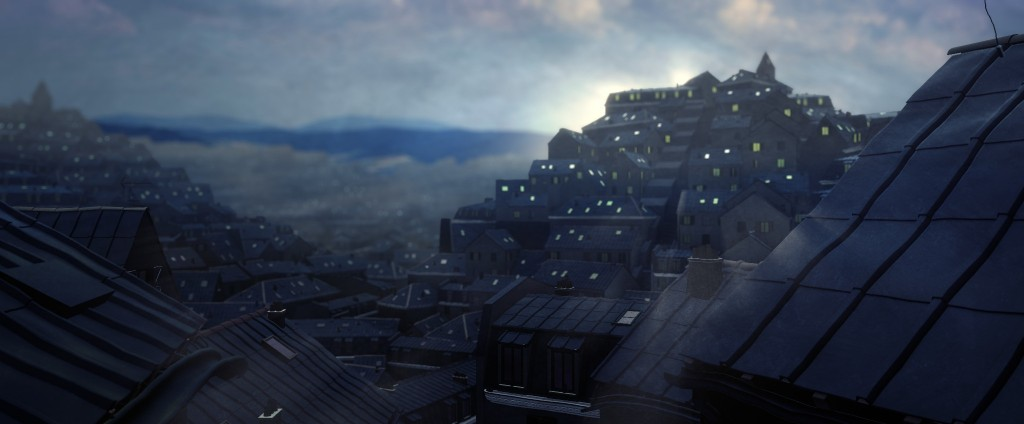 Roofs of Paris - tutorial preview image 1