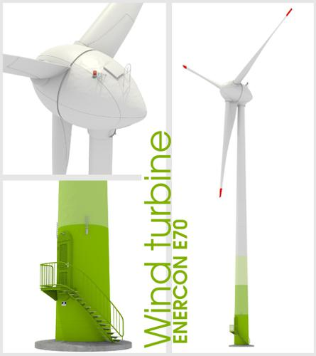 Enercon Wind turbine built according Plans preview image