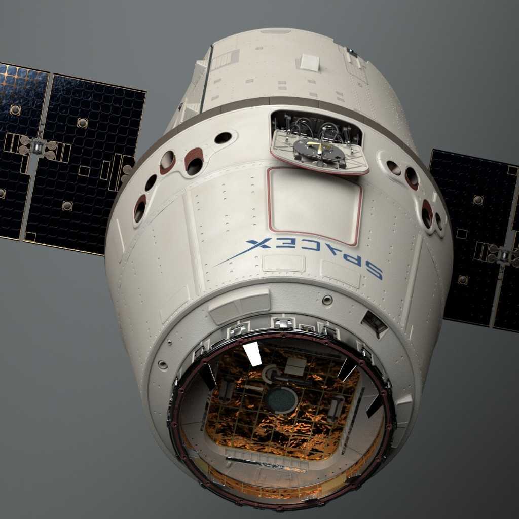 SpaceX Dragon preview image 2